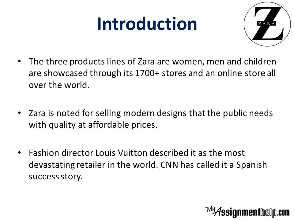 Zara It For Fast Fashion