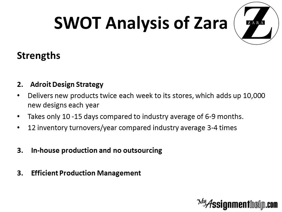 Zara Swot Pestle Analysis Case Study 100 Original Content