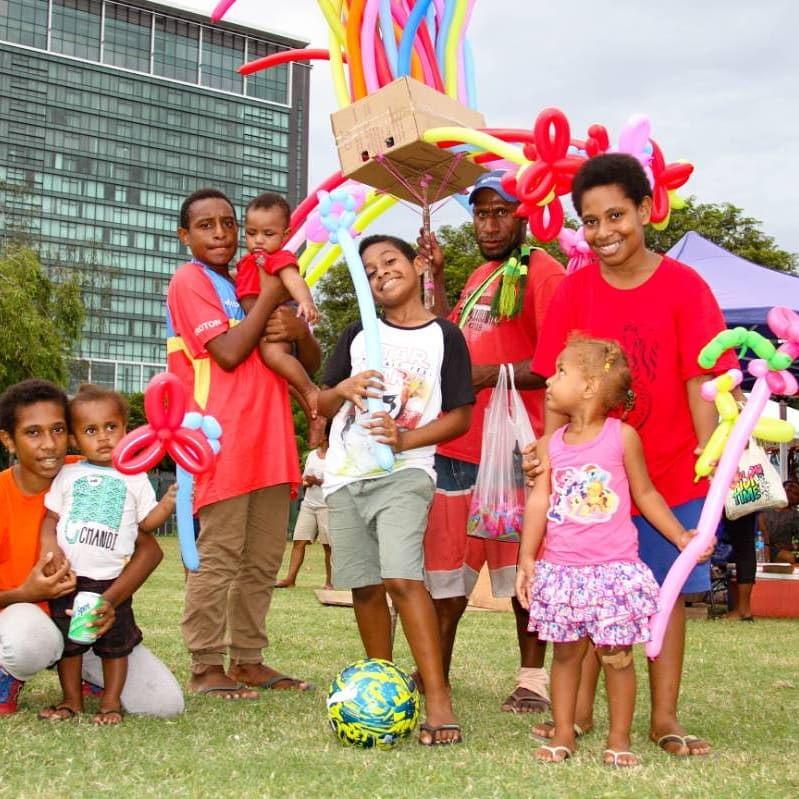Whole family entertained at the Pom City Markets | Source: Pascoe Promotions