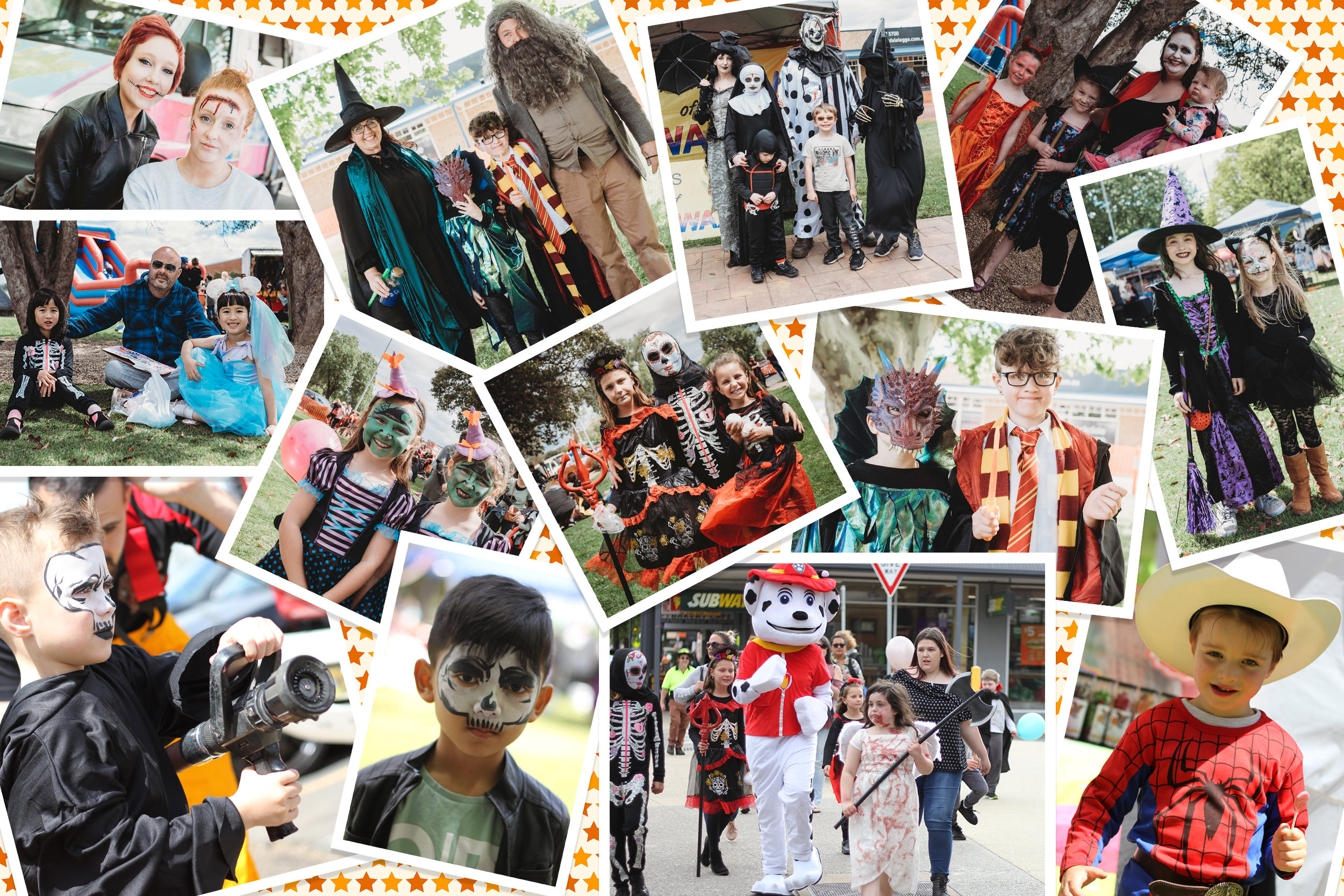 Scenes from previous Marsh Monster Mash Events
