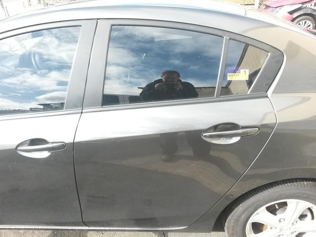 View Auto part Left Rear 1/4 Door Glass Mazda 3 2011