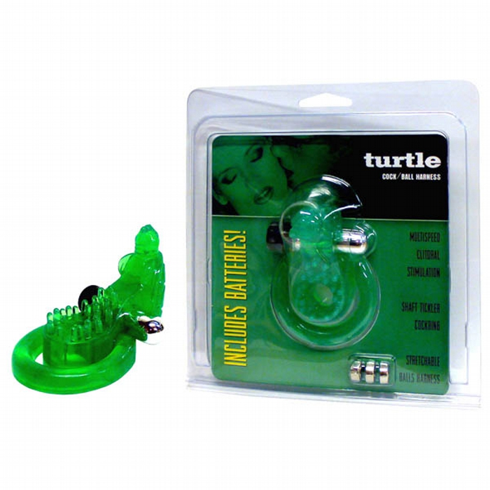 Turtle Cock & Ball Harness