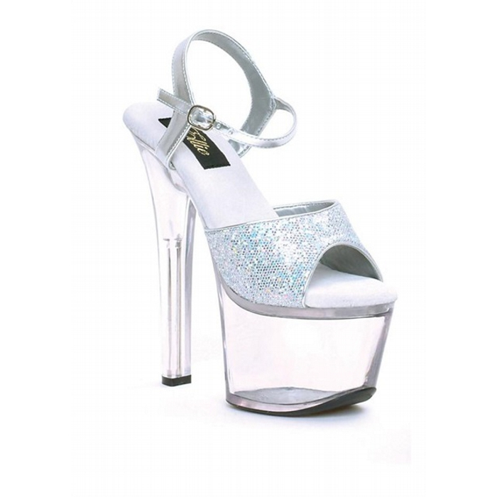 7″ Heel Juliet Style with Glitter