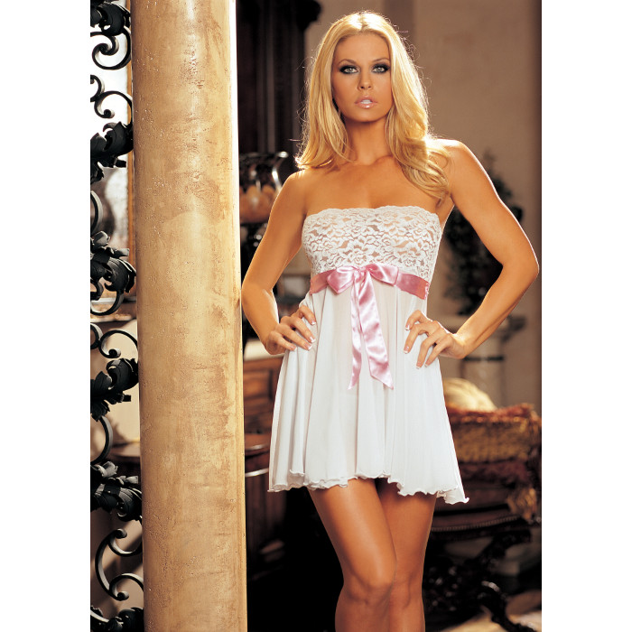 mmj-Tie-Front-Stretch-Lace-Babydoll-96273