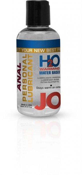 Jo Anal H20 Warming Lubricant