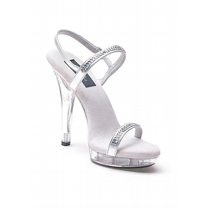 5″ Heel Rhinestone Sandal