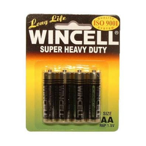 Wincell AA Super Heavy Duty Batteries