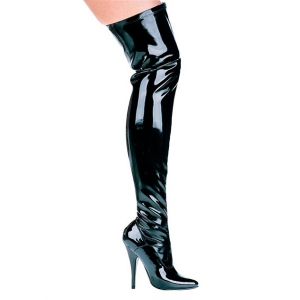 5″ Heel Thigh High Stretch Boot