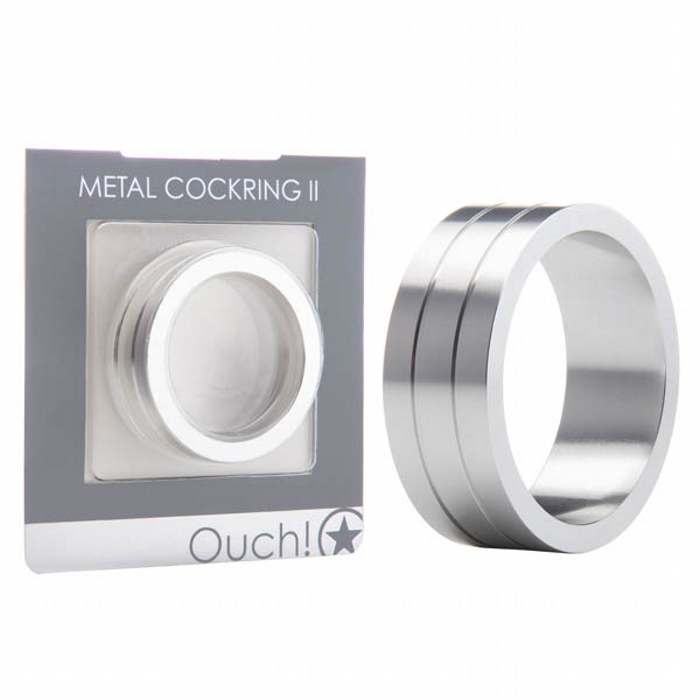 Ouch Metal Cockring II