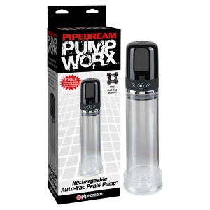 Pump Worx Rechargable 3-speed Auto-vac Pump