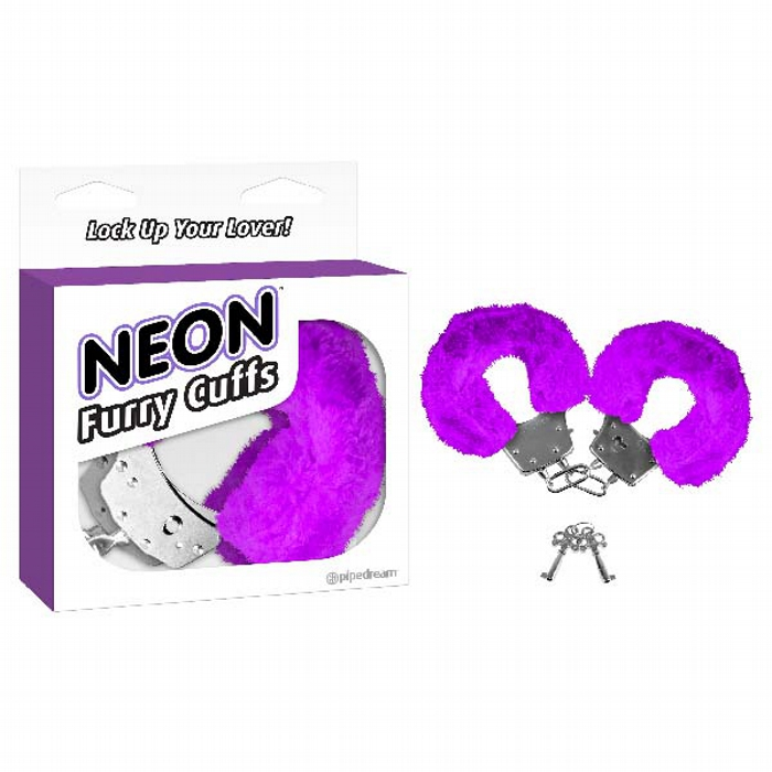 Neon Furry Cuffs