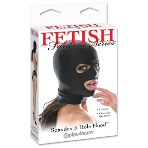 Fetish Fantasy Series Spandex 3-hole Hood