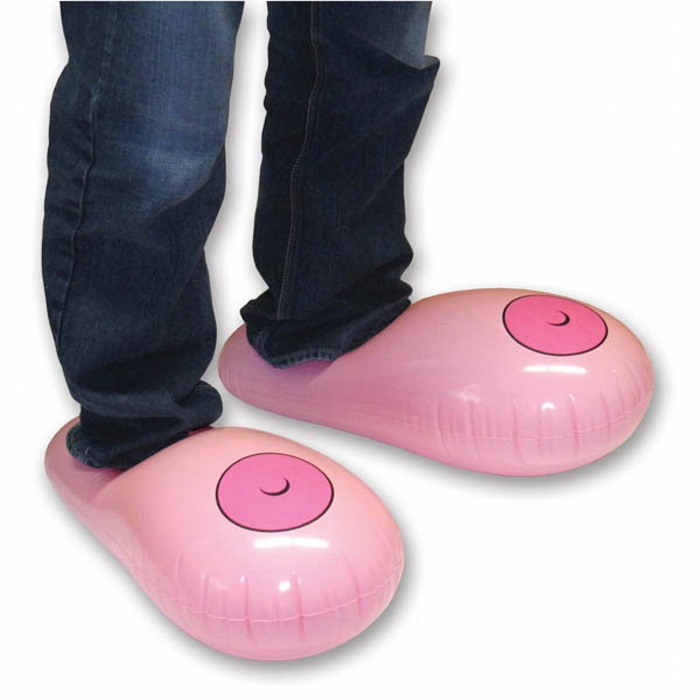 Inflatable Boobie Slippers