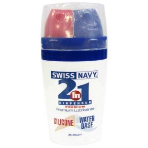 Swiss Navy 2-in-1 Dispenser