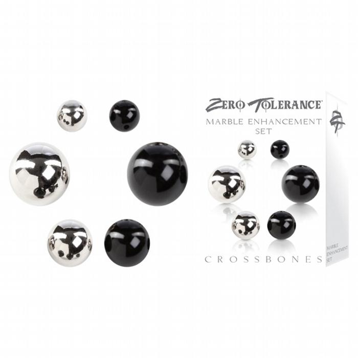 Crossbones Marble Enhancement Set