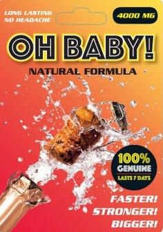 Oh! Baby! Platinum Natural Formula Performance Pill  1 pill