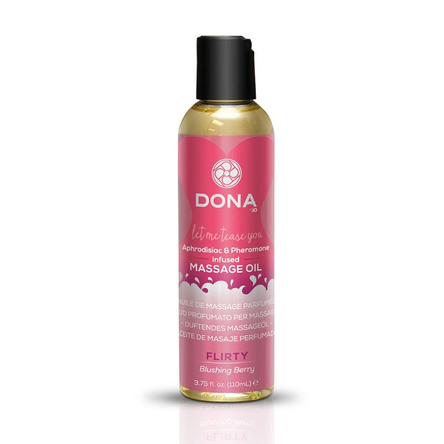 DONA Massage Oil - Flirty - System Jo Australia