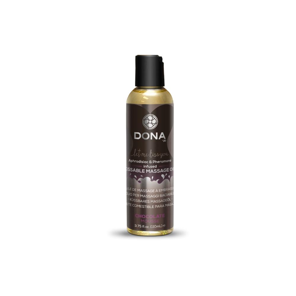 DONA Kissable Massage Oil – Chocolate Mousse