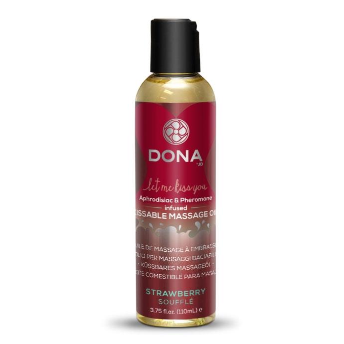 DONA Kissable Massage Oil – Strawberry Souffle