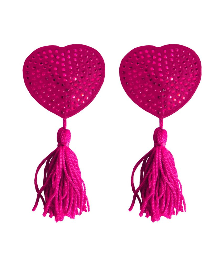 Shots Toys OUCH NIPPLE TASSELS Pink