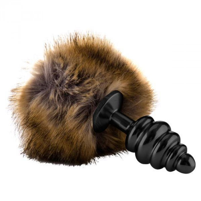 Shots Toys Ouch! Extra Feel Bunny Tail Buttplug