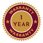 1 year warranty on selected toys