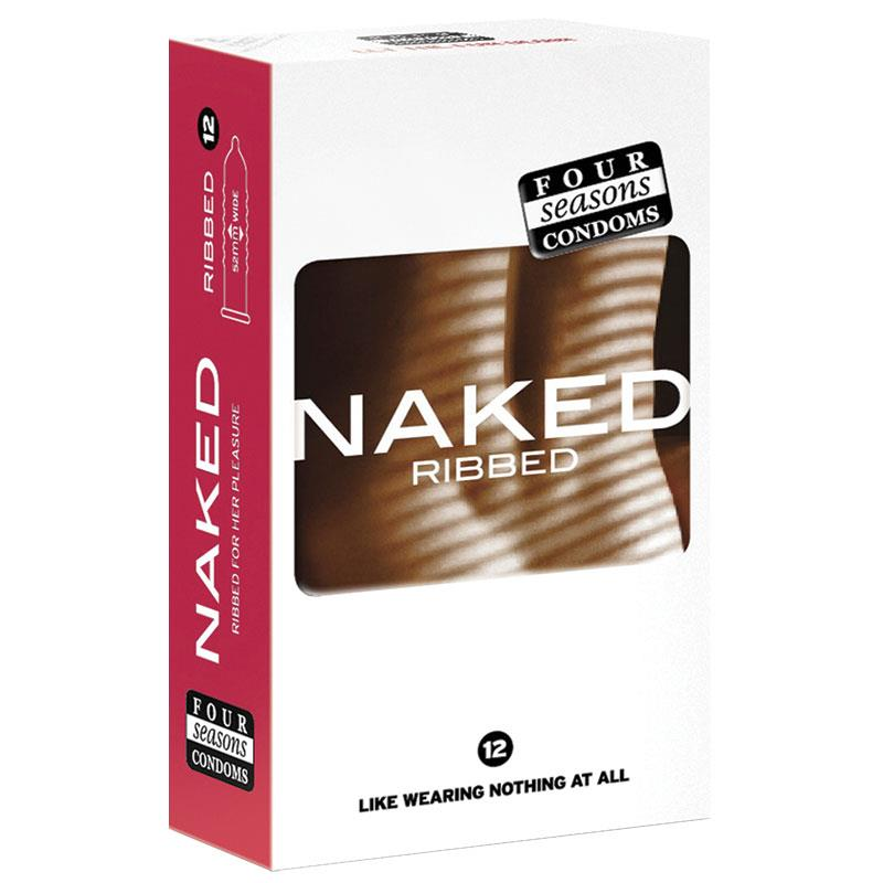 FOUR SEASONS NAKED RIBBED 12 PACK