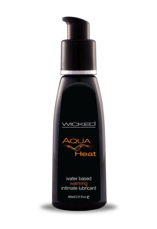 Wicked Aqua Heat Warming Water-Based Lubricant 60ml