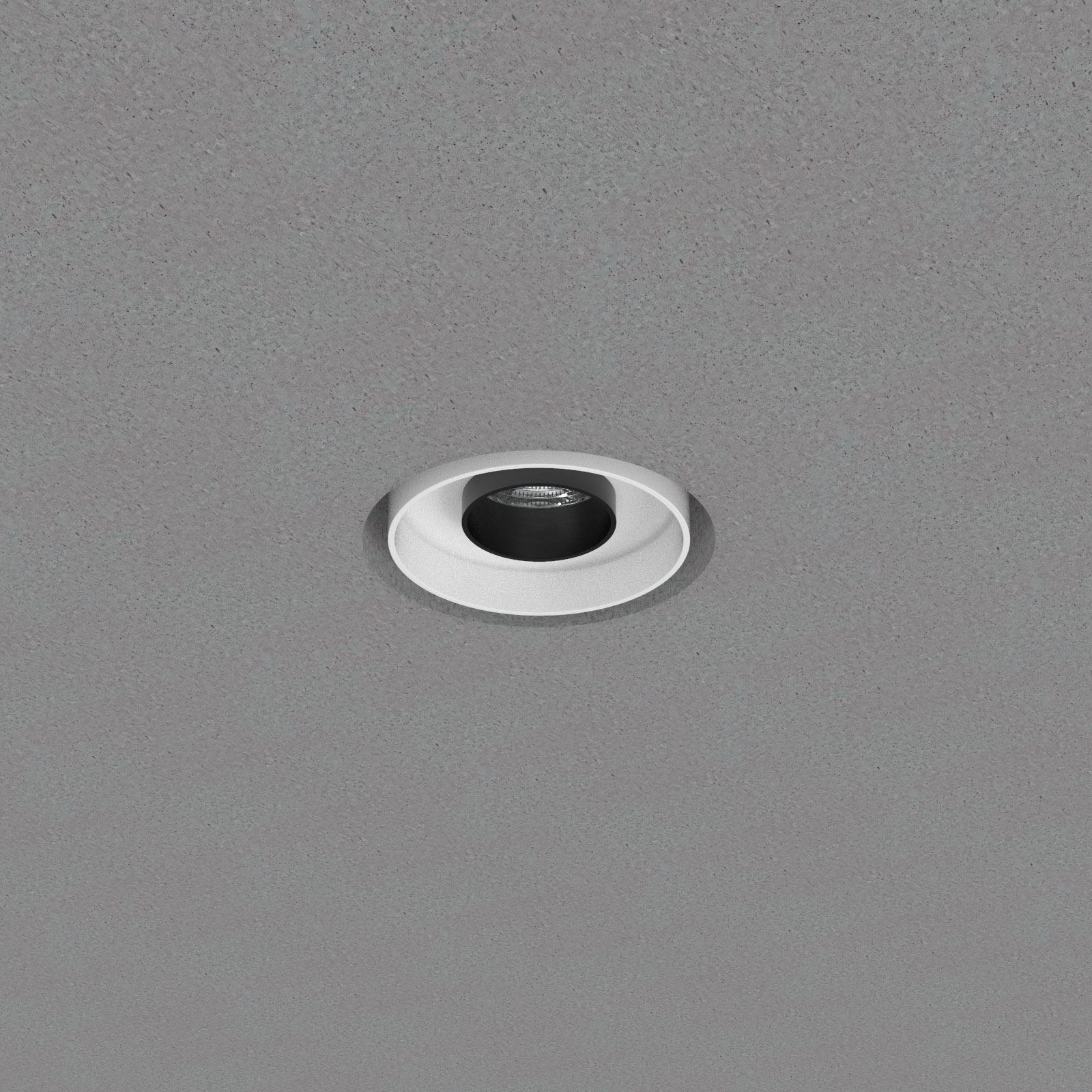 Mono 100 Trimless Concrete Recessed Downlighter Type 2