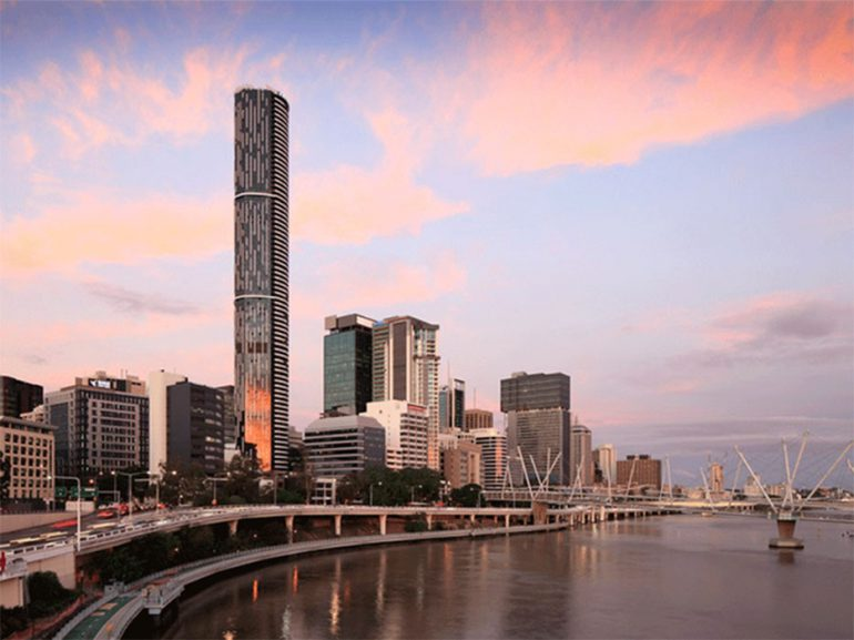 Meriton's Infinity Tower in Brisbane Wins 'Best Residential High-rise Development'
