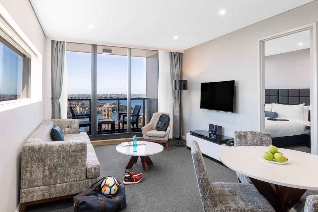 Wonderful Meriton Suites