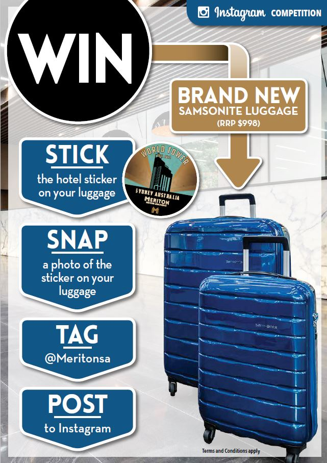 Win Samsonite Luggage – Our Instagram Competition Starts TODAY!