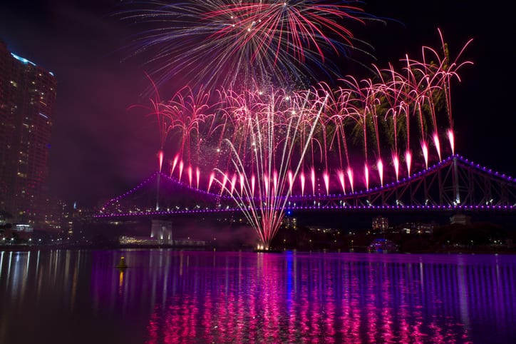 Where to Get the Best Seat for the Gold Coast Fireworks this NYE
