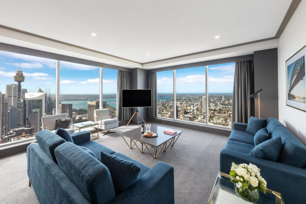 Bringing New Style to Sydney's Highest Hotel