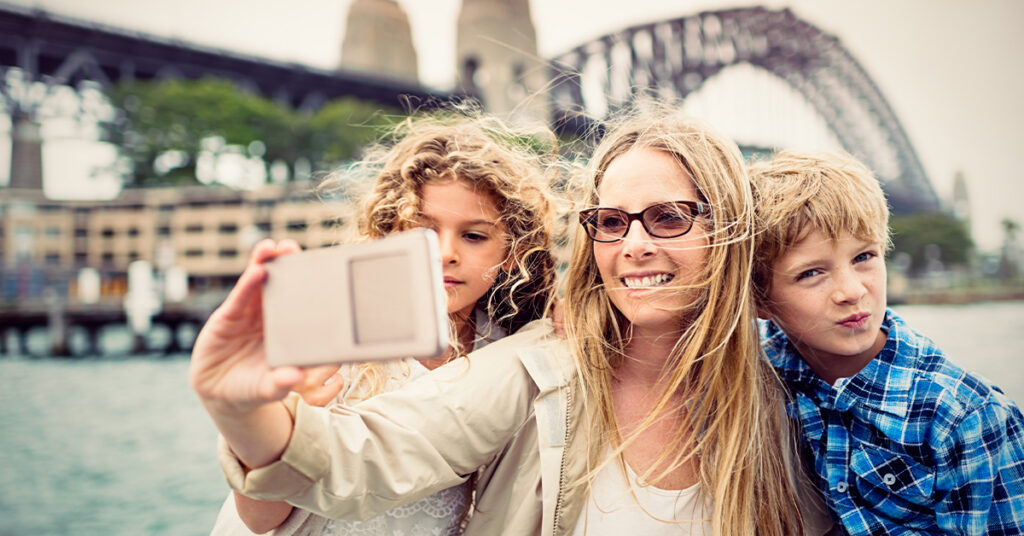Travelling With Young Kids In Sydney