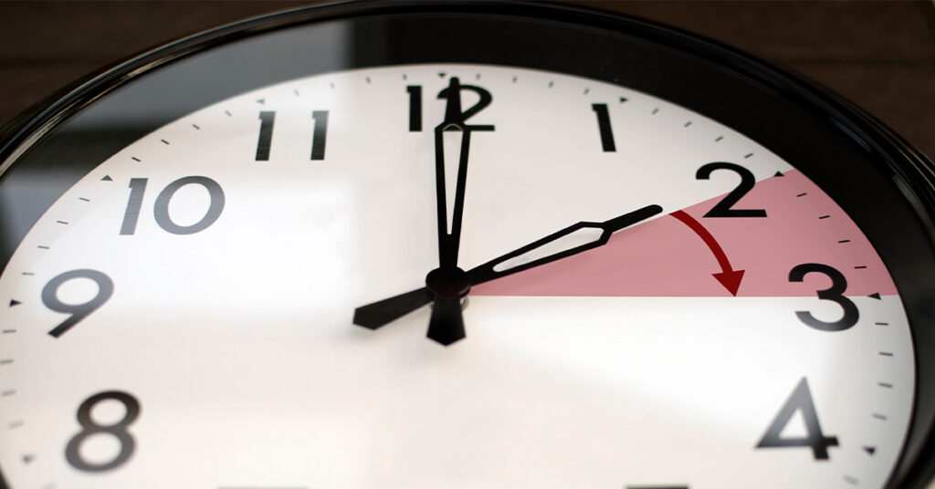 Clocks go forward this weekend as daylight saving time begins