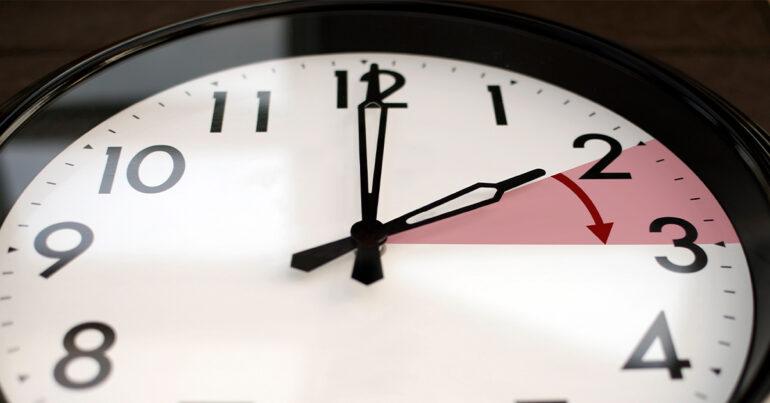 Clocks go forward this weekend as daylight saving time begins