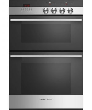 Latest Model Fisher & Paykel 60cm Double Built-in Oven – OB60B77DEX3