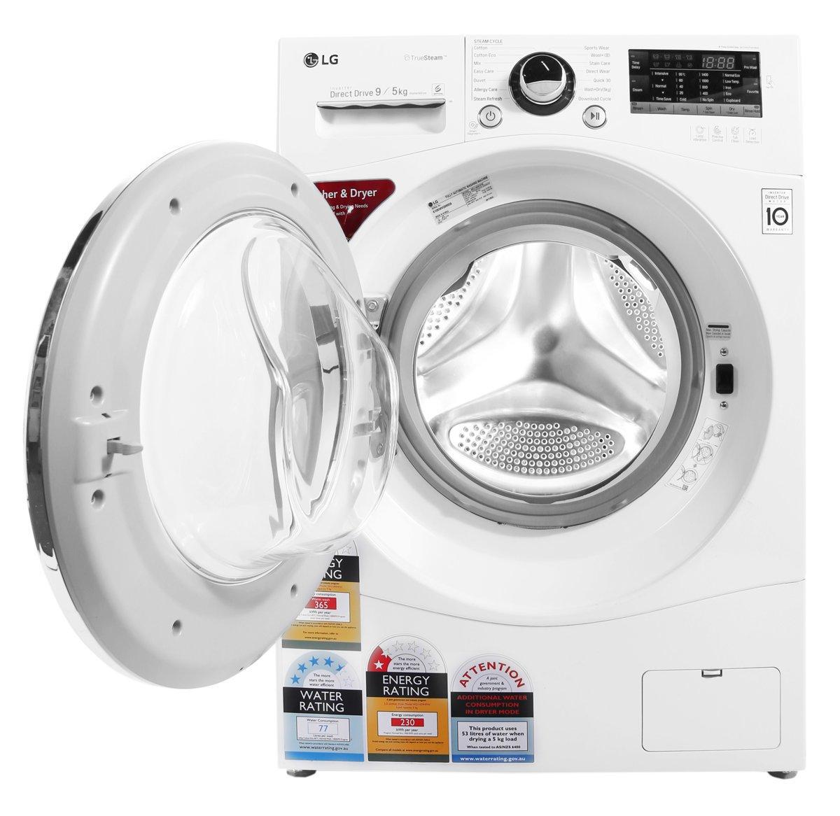 LG WD1409HPW 9kg Washer 5kg Dryer Combo Front Open high.jpeg