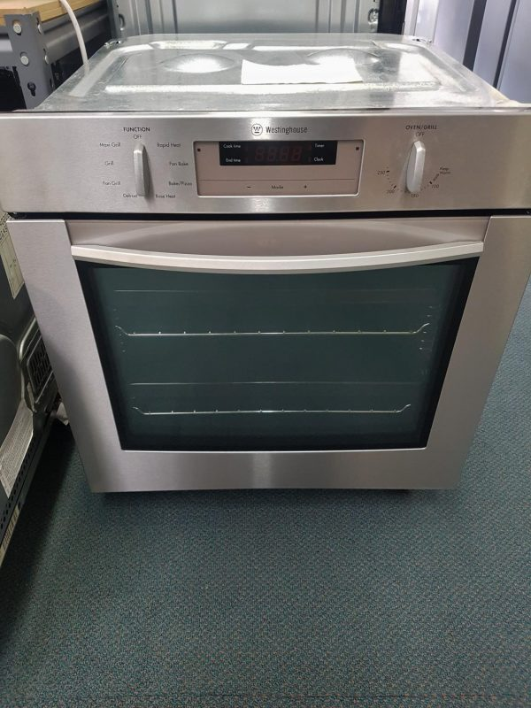 60cm Westinghouse Stainless Steel Electric Wall Oven