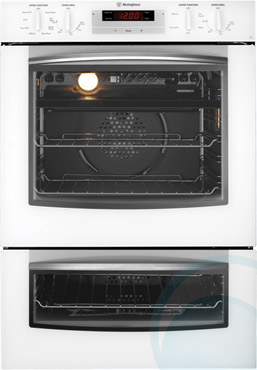 60cm Westinghouse Electric Double Wall Oven PDP790W