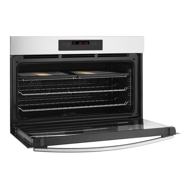 900mm 90cm Westinghouse Electric Wall Oven WVE916SA Inside high.png