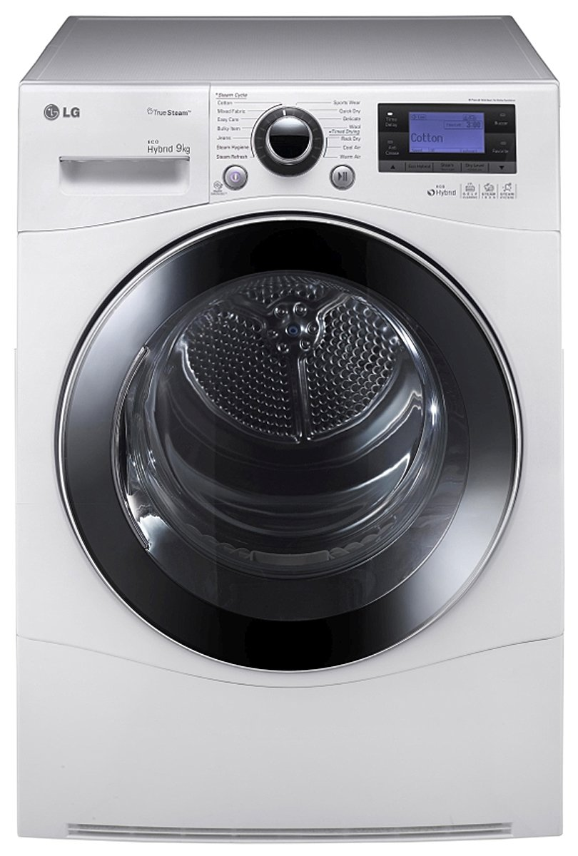 9kg LG Heat Pump Hybrid Dryer TD C902H Front high.jpeg