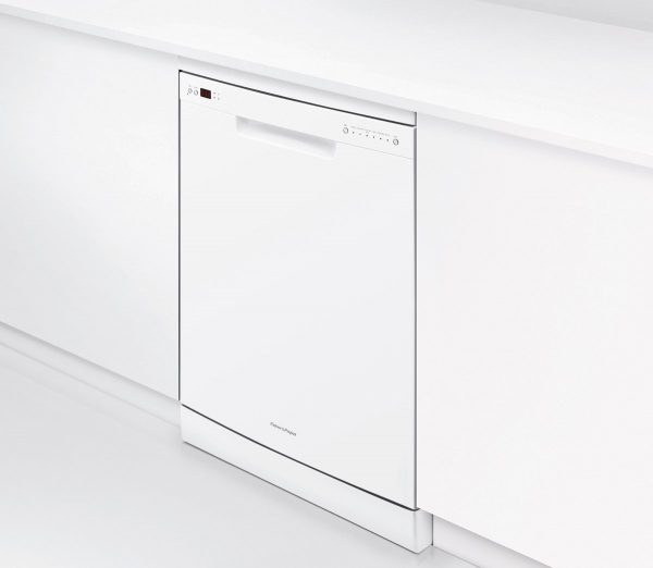 Fisher Paykel Dishwasher DW60CHW1 Angle on Cabinet high.jpeg