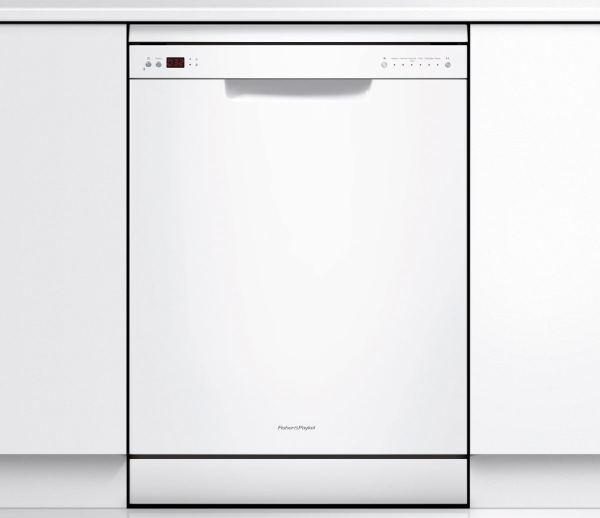 Fisher Paykel Dishwasher DW60CHW1 Front on Cabinet high.jpeg