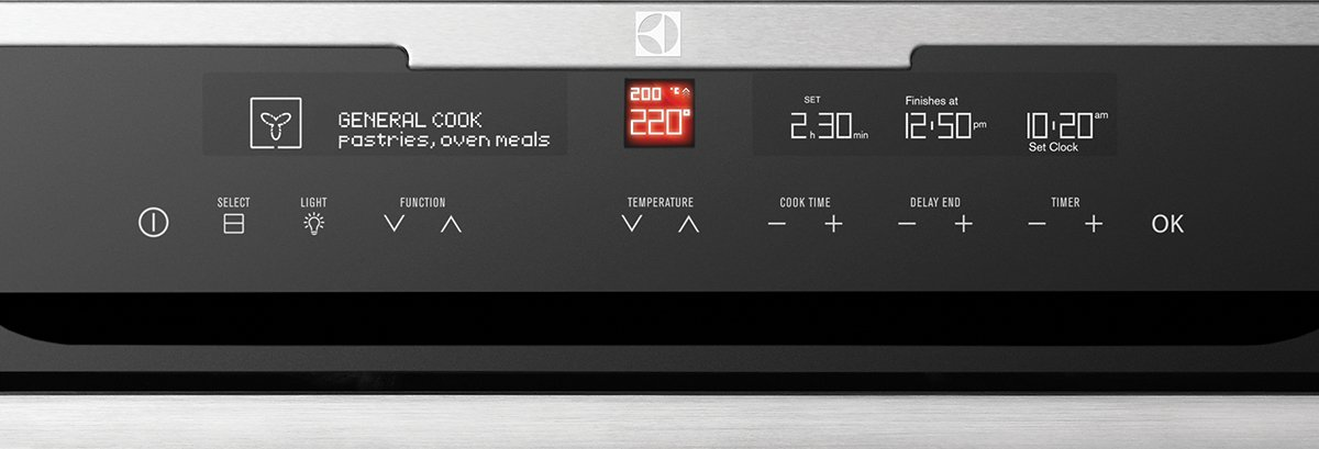 Electrolux EVEP626SC Electric Pyrolytic Wall Oven Control Panel high.jpeg