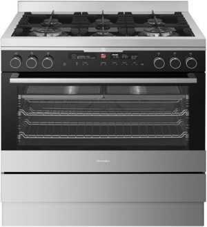 Electrolux Stainless Steel 90cm Dual Fuel Freestanding Cooker