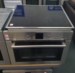 BOSCH – HBC84K551A – GOURMET OVEN/MICROWAVE WITH HOB COMBO