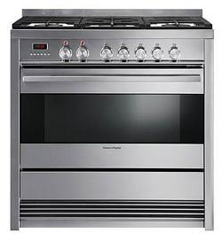 Fisher & Paykel OR90SDBGFX3 90cm Freestanding Dual Fuel Oven/Stove