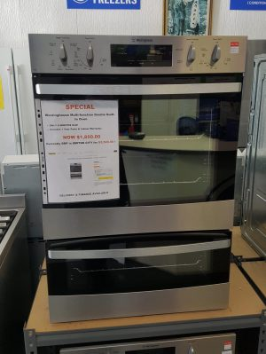 Westinghouse 60cm Electric Duo Wall Oven – WVE626S